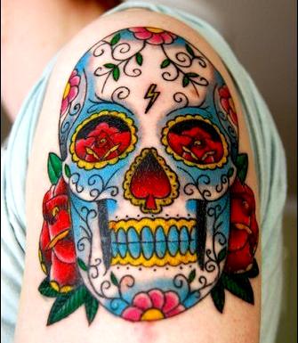 Annarose87 life love tattoos page 3 for Dia de muertos tattoos